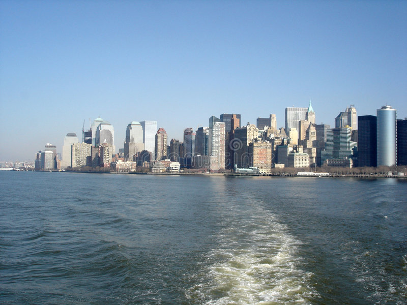 Skyline de New York fotografia de stock