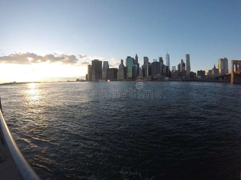 Skyline de New York fotos de stock royalty free