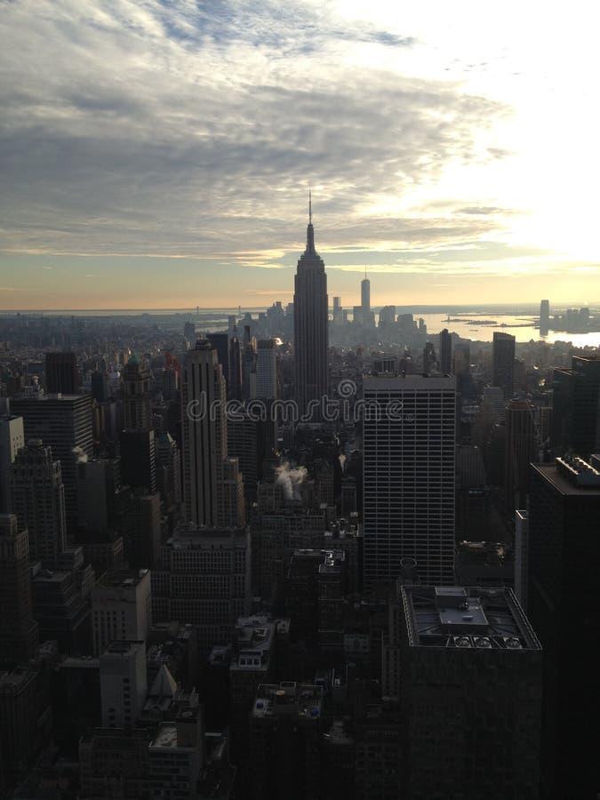 Skyline de New York - Manhattan imagem de stock royalty free