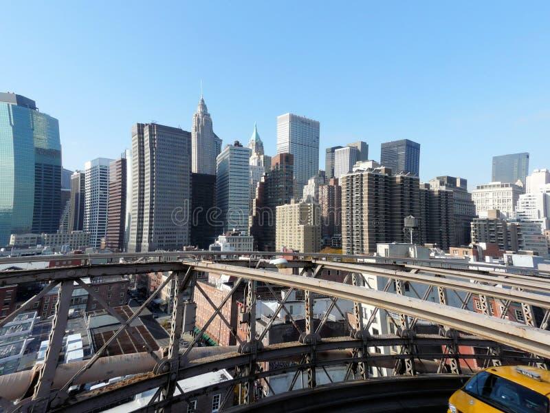 A Skyline De NY Imagens de Stock Royalty Free
