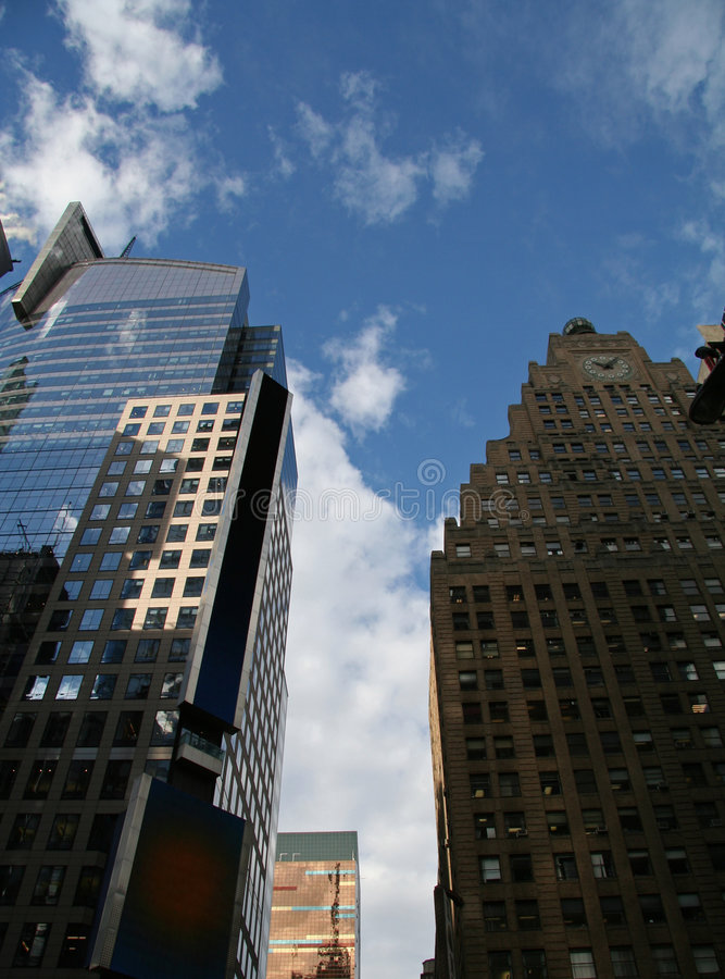 Skyline de NYC foto de stock