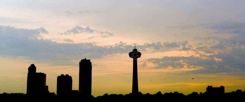 Skyline de Ontário foto de stock royalty free