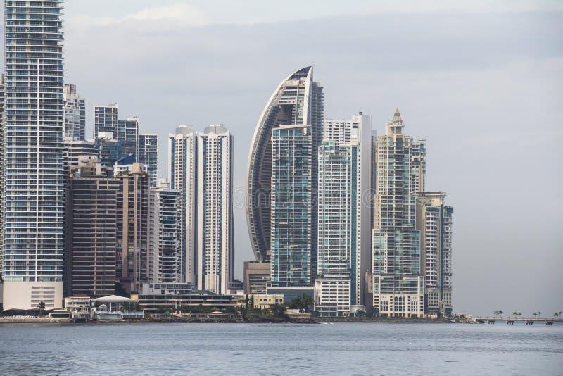 Skyline de Panama City fotos de stock royalty free