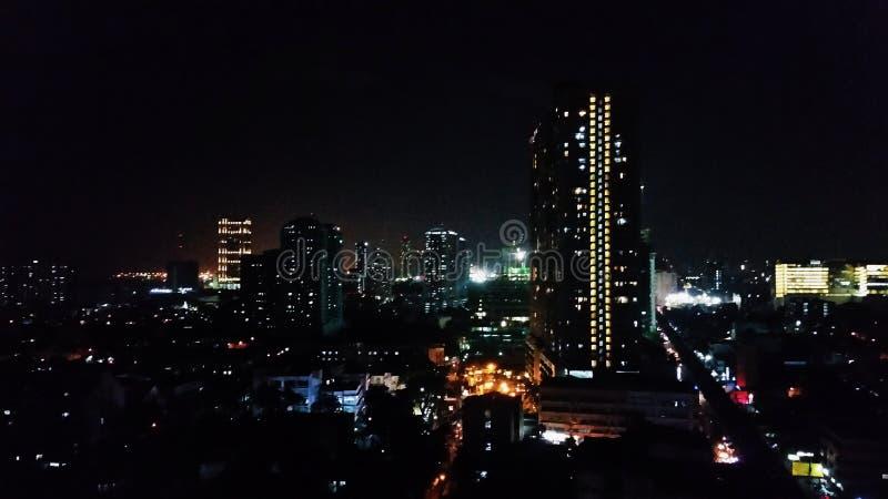 Skyline de Pasay foto de stock