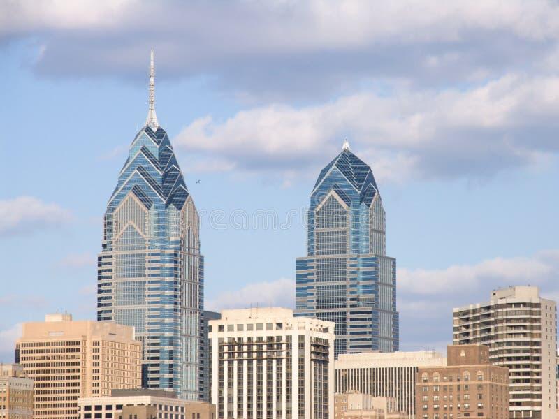 Skyline de Philadelphfia fotos de stock