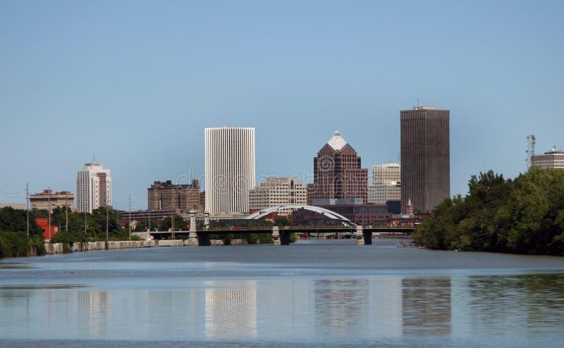 Skyline de Rochester New York foto de stock