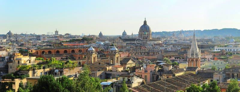 Skyline de Roma fotografia de stock royalty free