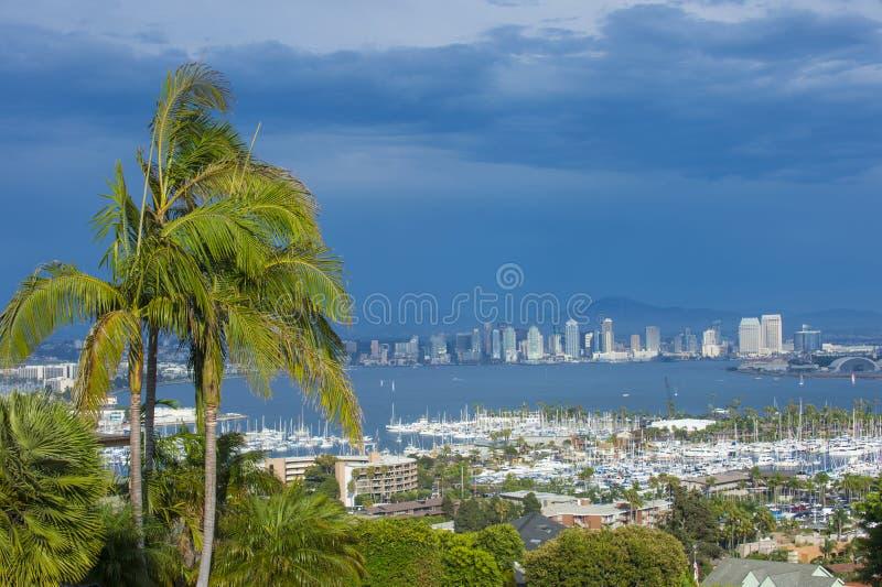Skyline de San Diego fotografia de stock royalty free