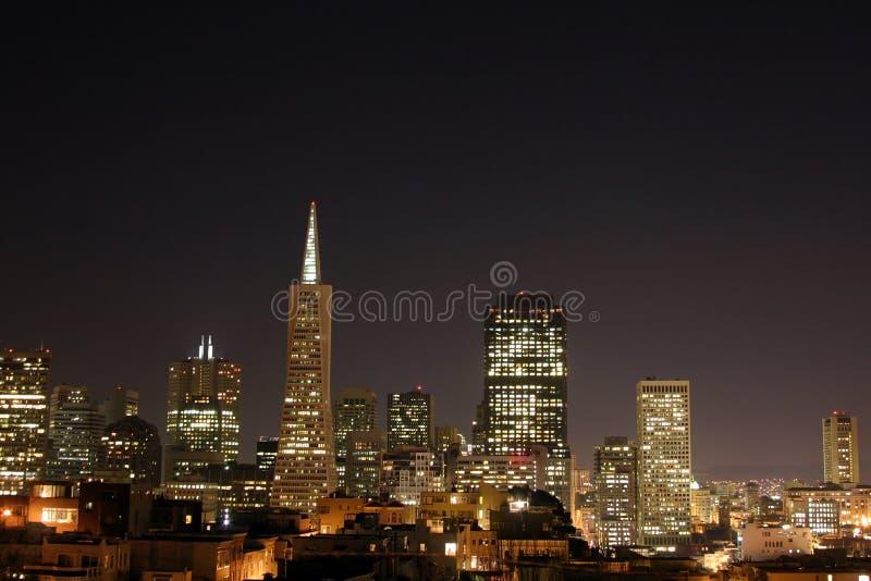 Skyline de San Francisco fotos de stock royalty free
