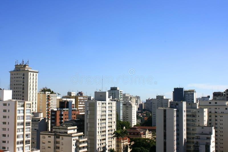 Skyline de Sao Paulo imagem de stock