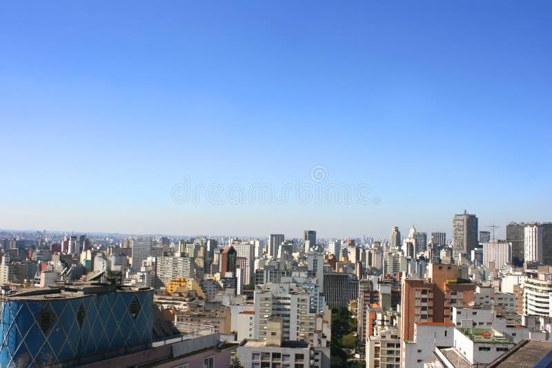 Skyline de Sao Paulo fotos de stock royalty free