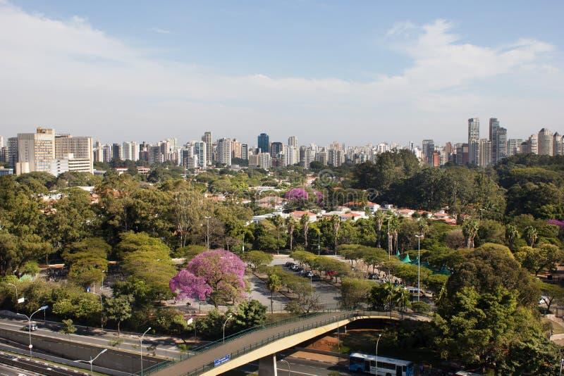 Skyline de Sao Paulo fotos de stock