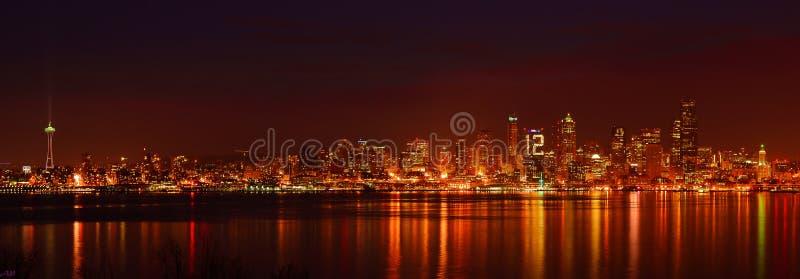 Skyline de Seattle fotografia de stock royalty free