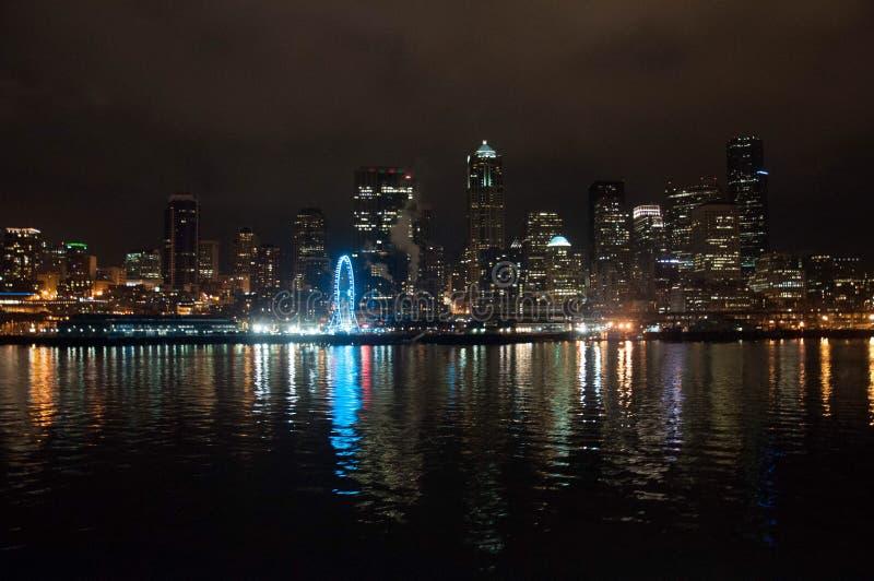 Skyline de Seattle imagem de stock