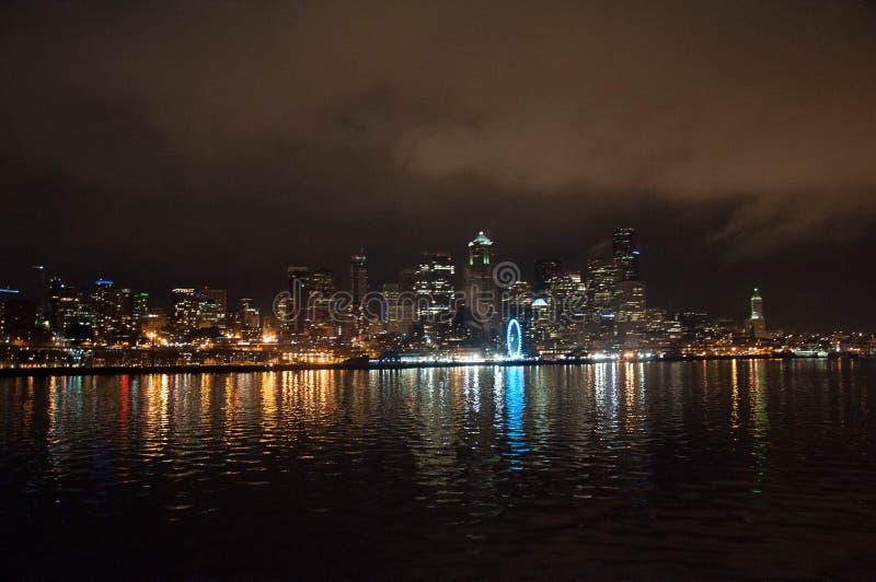 Skyline de Seattle imagens de stock royalty free