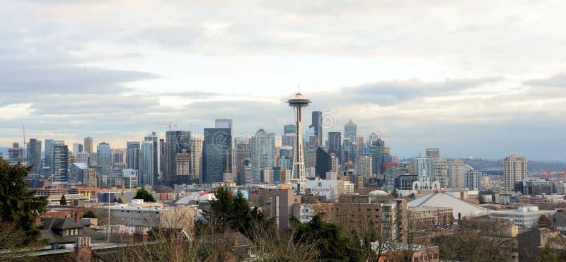 Skyline de Seattle foto de stock
