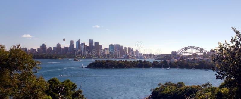 Skyline de Sydney foto de stock royalty free