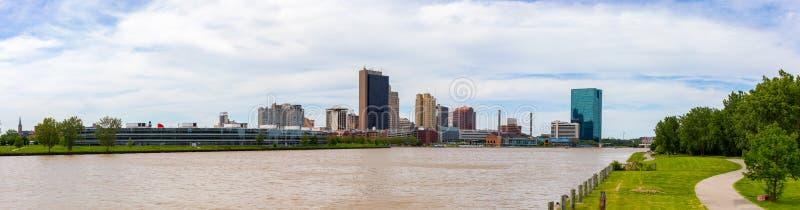 Skyline de Toledo imagens de stock royalty free