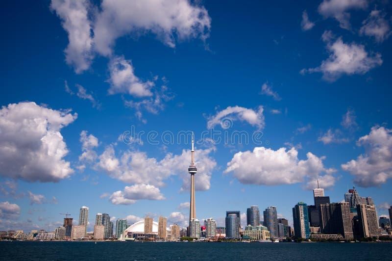 Skyline De Toronto Fotografia de Stock