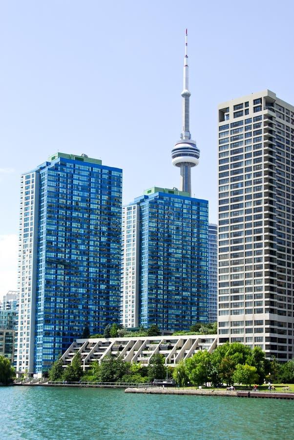 Skyline de Toronto fotos de stock