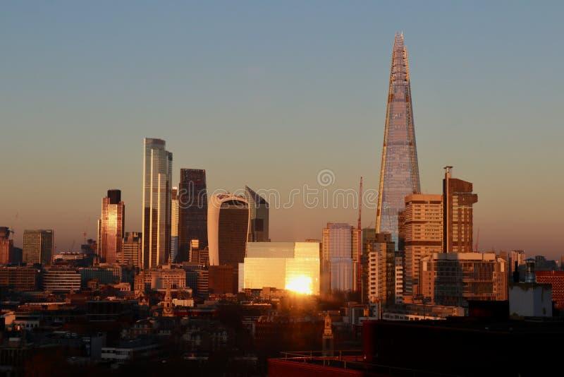 Skyline della City immagine stock libera da diritti