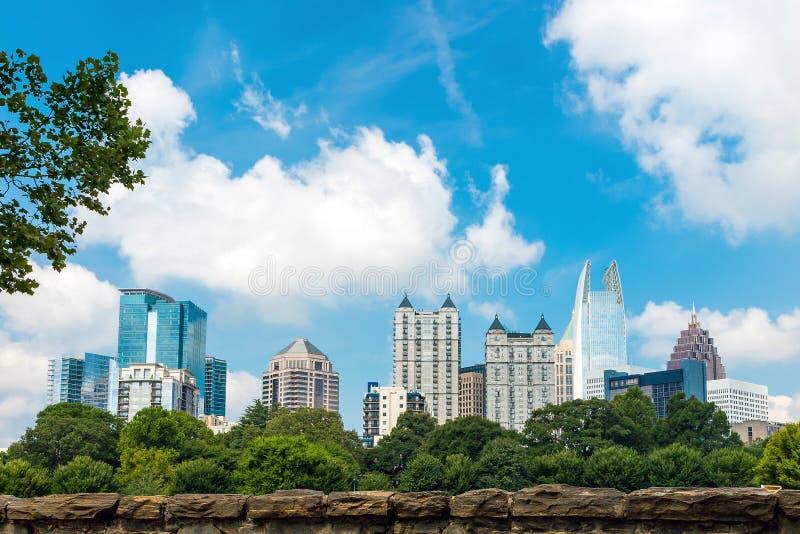 Skyline der Stadtmitte Atlanta, Georgia stockfoto