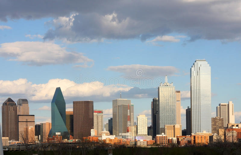 Download Skyline In Downtown Of Dallas Stock Image - Image: 23791179