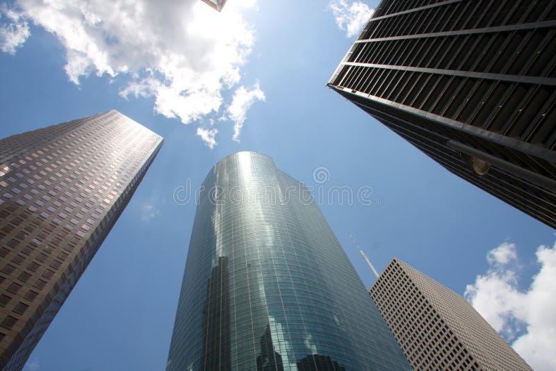 Skyline of downtown Houston royalty free stock image