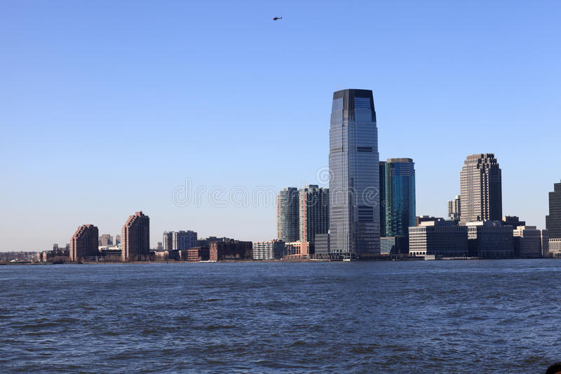 Download Skyline Of Downtown Jersey City Stock Photo - Image: 19117640