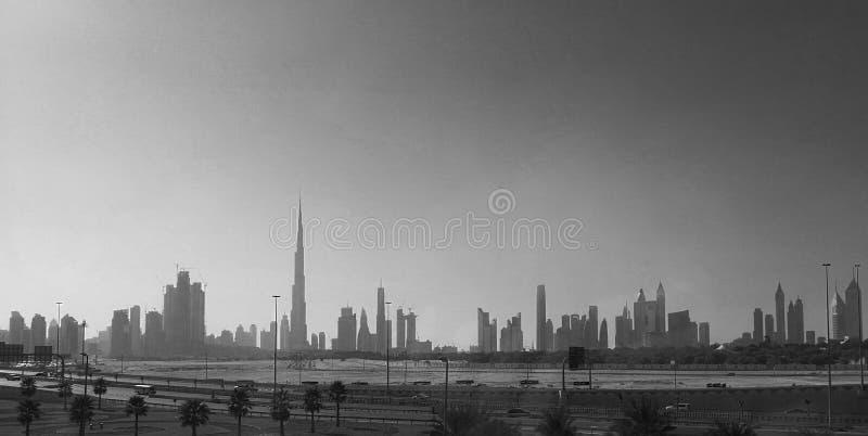 Skyline Dubai fotos de stock