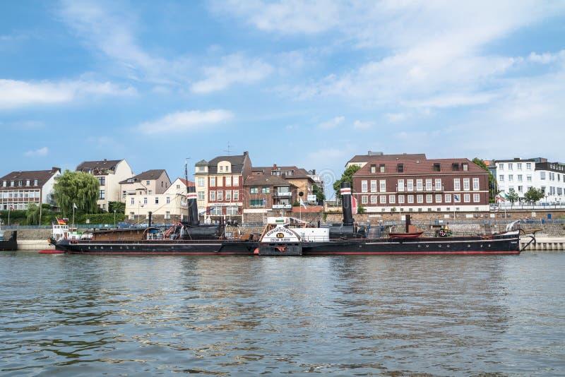 Download Skyline Of Duisburg Ruhrort Editorial Image - Image: 83704190