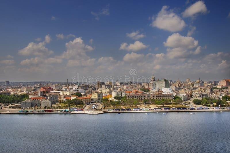 Skyline e louro de Havana imagem de stock