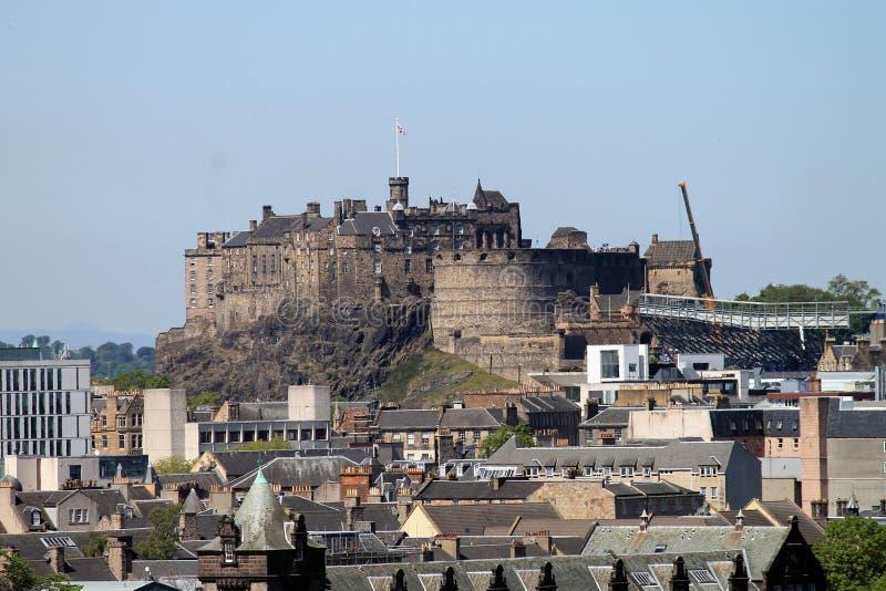Skyline Edinburgh stockbilder