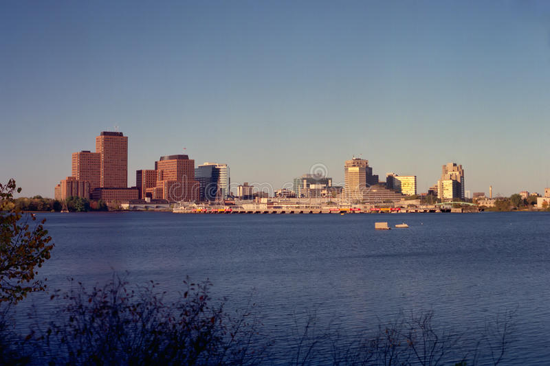Download Skyline Of Gatineau Quebec At Sunset Stock Photo - Image: 34250308
