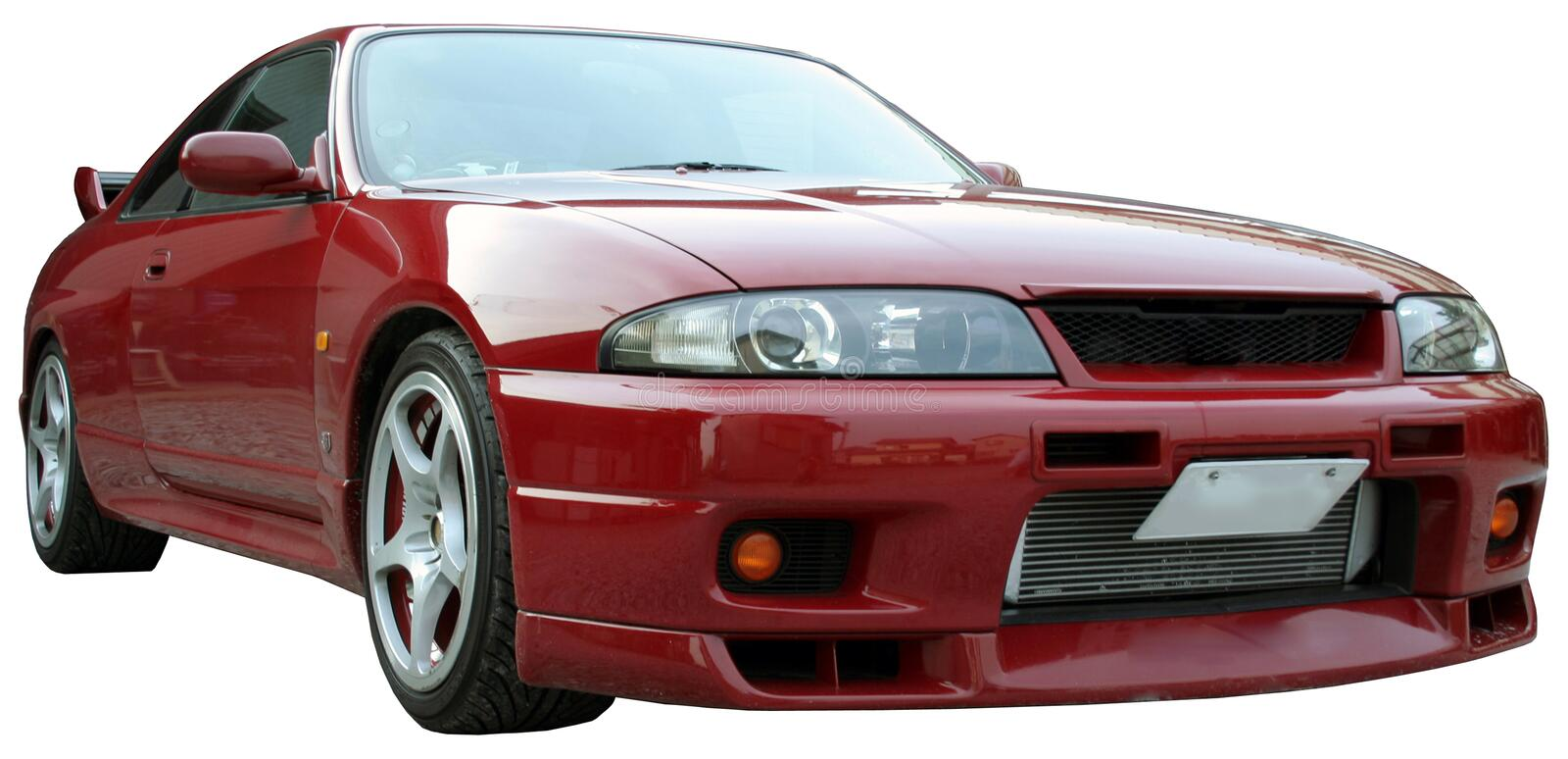 Skyline GT-R stock photos