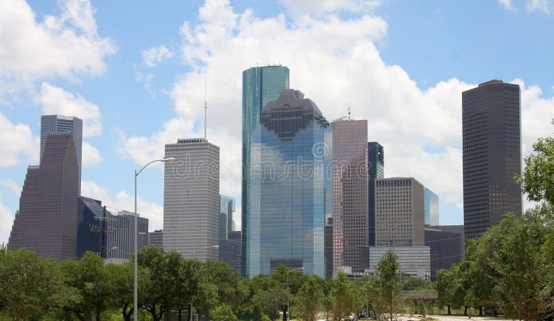 Skyline of Houston stock image