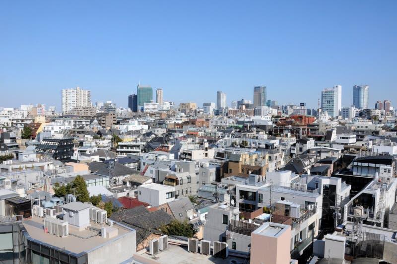 Skyline japonesa imagem de stock royalty free