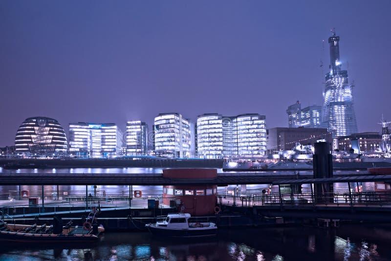Skyline Londres de Londres, Reino Unido fotografia de stock royalty free