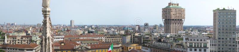 Skyline of Milan
