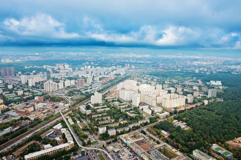 Skyline, Moscovo imagem de stock