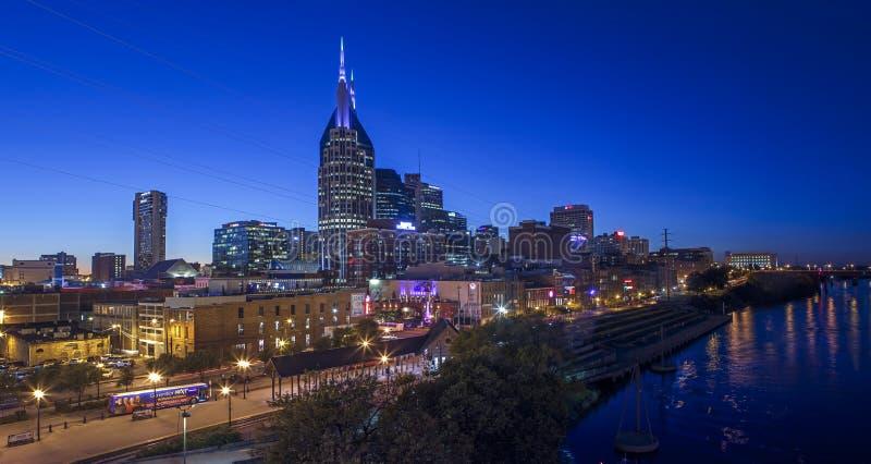 Skyline Nashvilles Tennessee USA stockbild