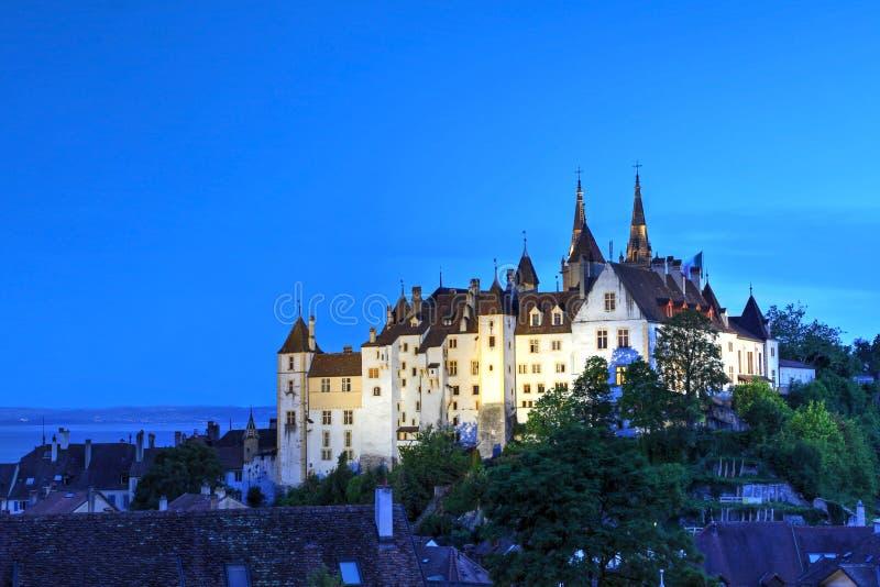 Neuchatel, Switzerland stock photo