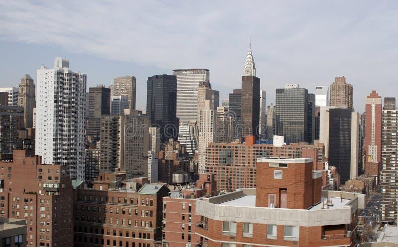 Skyline New York foto de stock royalty free