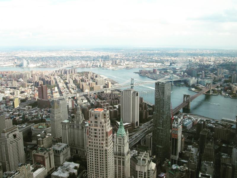 Skyline - New York imagem de stock royalty free
