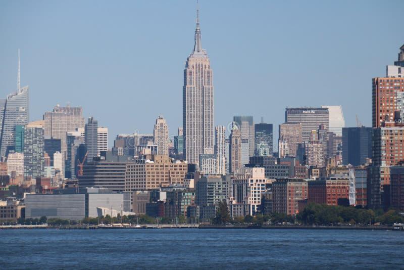 Skyline New York City, Manhattan stock photography