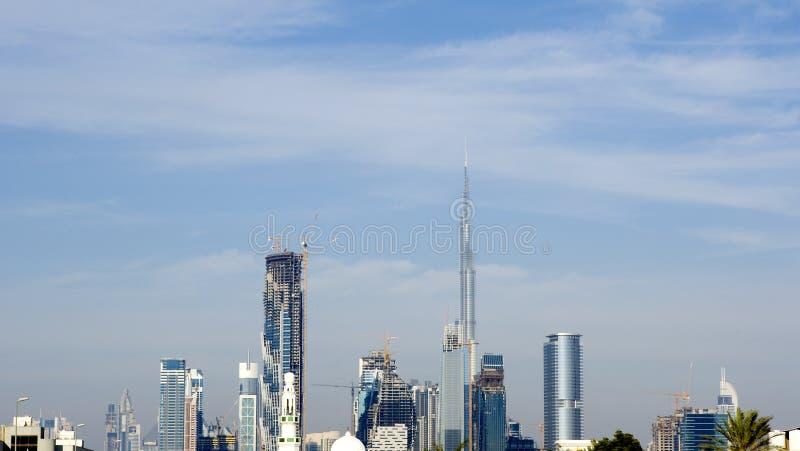Skyline Od Dubai With Burj Khalifa Editorial Photography