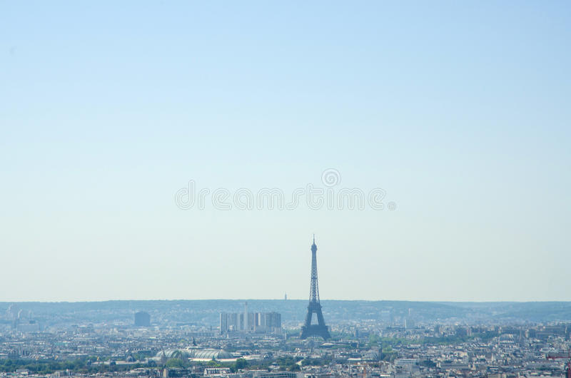 Download Skyline Of Paris On Summer Day Stock Photo - Image: 28695248