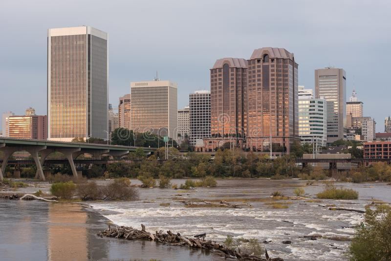 Skyline, Richmond, Virginia stockfoto