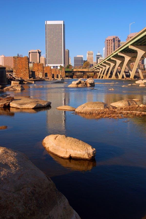 Richmond Virginia day skyline stock image
