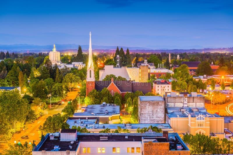 Skyline Salems, Oregon, USA stockfotografie